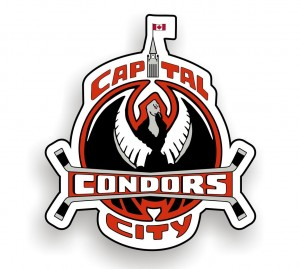 condors logo with shadow