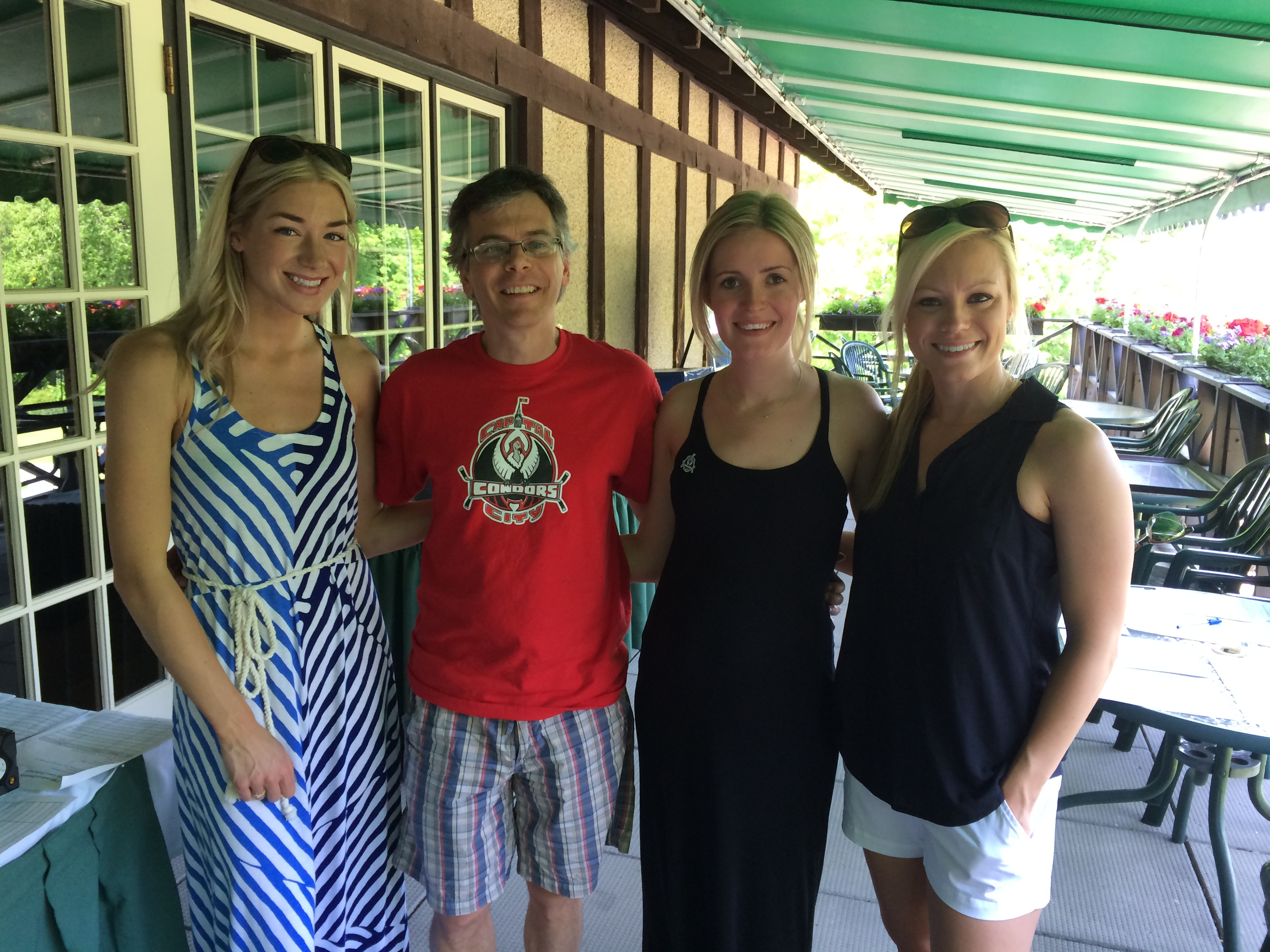 Thanks to Mark (golf tourney chair), Kresson, Julie, & Amanda for their incredible support!