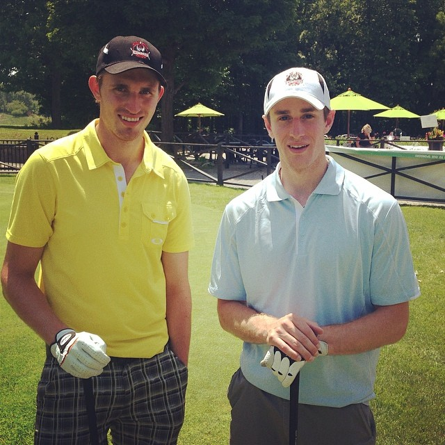 HUGE thanks to Kyle Turris and Pat Wiercioch for helping make it such an amazing day for golfers and the Condors alike!